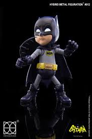 "Herocross Hybrid Metal Figuration Batman ""1966 TV Series"" Action Figure - Collectors Row Inc."