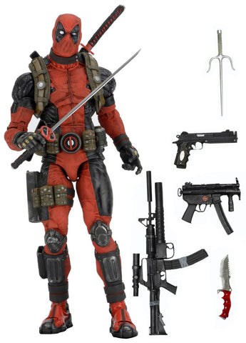 NECA Marvel Classics Deadpool 1/4 Scale Action Figure - Collectors Row Inc.