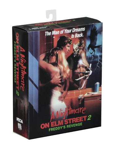 NECA Nightmare on Elm Street – 7″ Scale Action Figure – Ultimate Part 2 Freddy - Collectors Row Inc.