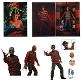 NECA Ultimate Freddy A Nightmare on Elm Street – 7″ Scale Action Figure - Collectors Row Inc.