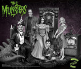 Grandpa Munsters Deluxe Black and White Maquette by Tweeterhead - Collectors Row Inc.