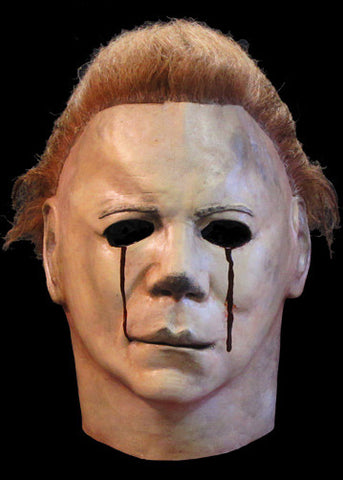 Halloween II Blood Tears Deluxe Mask by Trick or Treat Studios - Collectors Row Inc.