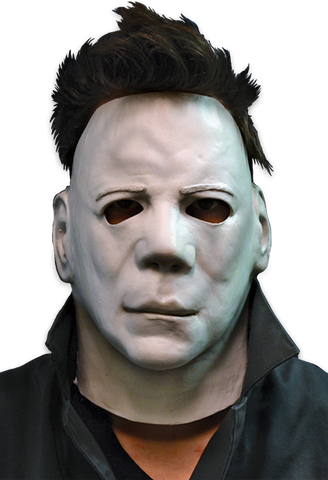 Halloween II Michael Myers Face Mask by Trick or Treat Studios - Collectors Row Inc.