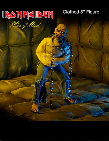 "NECA Iron Maiden Piece of Mind 8"" Clothed Action Figure - Collectors Row Inc."
