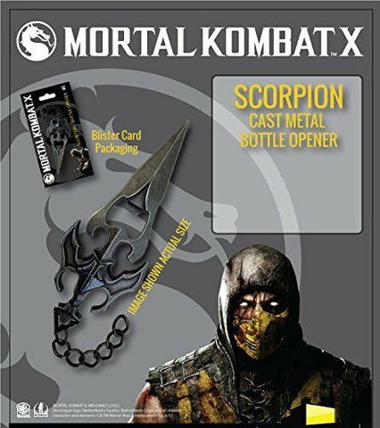 Factory Entertainment Mortal Kombat Scorpion Bottle Opener - Collectors Row Inc.