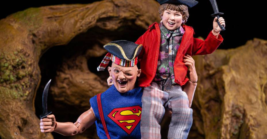 "NECA - Goonies - 8"" Clothed Figure 2 pack - Sloth and Chunk - Collectors Row Inc."