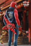 Hot Toys Spider-Man Spider-Punk Suit Video Game Masterpiece Series - Sixth Scale Figure - Collectors Row Inc.