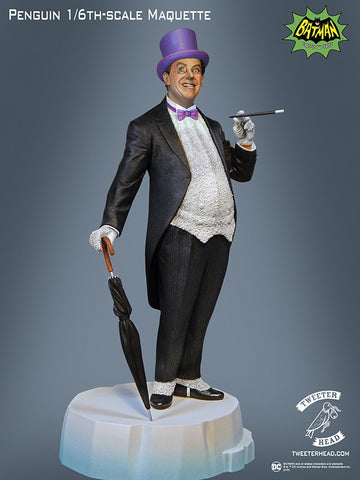 "Tweeterhead Penguin EXCLUSIVE ""Signature Series"" 1966 Batman Maquette - Collectors Row Inc."