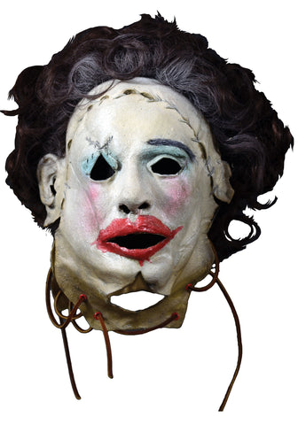 Leatherface 1974 PRETTY WOMAN Mask Texas Chainsaw Massacre by Trick or Treat Studios - Collectors Row Inc.