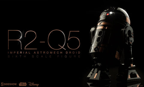 R2-Q5 Imperial Astromech Droid Sixth Scale Figure by Sideshow Collectibles - Collectors Row Inc.