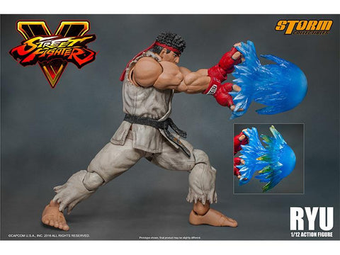 "Storm Collectibles Ryu ""Street Fighter V"" 1:12 Action Figure"