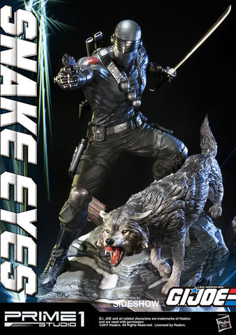 Snake Eyes Statue - Collectors Row Inc.
