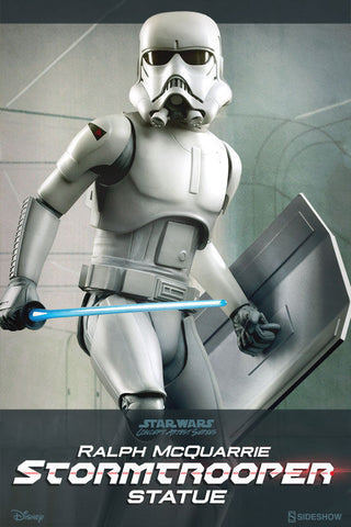 Ralph McQuarrie Stormtrooper Statue by Sideshow Collectibles - Collectors Row Inc.