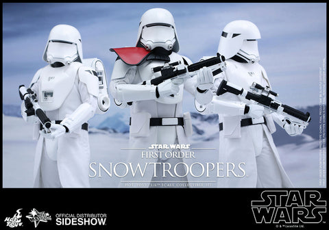 First Order Snowtrooper Sixth Scale Figure Set by Hot Toys - Collectors Row Inc.