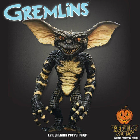 Evil Gremlin Gremlins Puppet Prop by Trick or Treat Studios - Collectors Row Inc.