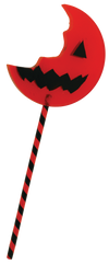 Trick r Treat Sam Bitten Lolipop Enamel Pin Officially Licensed by Trick or Treat - Collectors Row Inc.