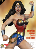 Tweeterhead Wonder Woman Super Powers Maquette EXCLUSIVE Edition DC Statue - Collectors Row Inc.