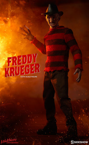 Freddy Krueger Nightmare on Elm Street 1/6 Scale Figure by Sideshow Collectibles - Collectors Row Inc.