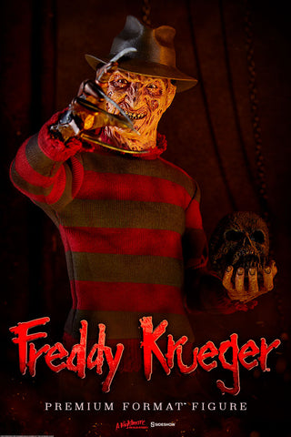 Freddy Krueger Premium Format Figure by Sideshow Collectibles - Collectors Row Inc.