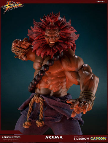 Akuma Street Fighter Statue 10 Year by PCS Pop Culture Shock - Collectors Row Inc.