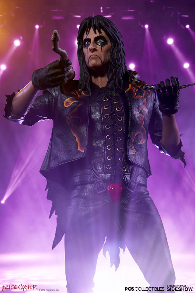Alice Cooper Sixth Scale Figure by PCS Collectibles - Collectors Row Inc.