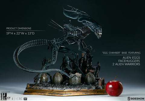 Alien Queen Maquette Legacy Effects Statue by Sideshow Collectibles - Collectors Row Inc.