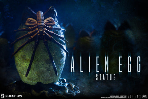 Sideshow Alien Egg Ovomorph Facehugger Aliens Statue Lights Up Limited Edition - Collectors Row Inc.