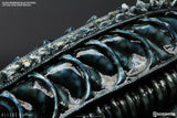 Alien Warrior Blue Edition Life-Size Head Prop by CoolProps and Sideshow Collectibles - Collectors Row Inc.