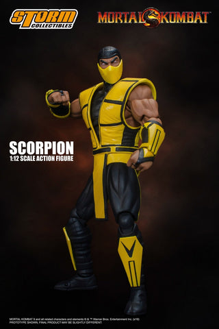 Storm Collectibles Mortal Kombat Scorpion 1/12 Action Figure
