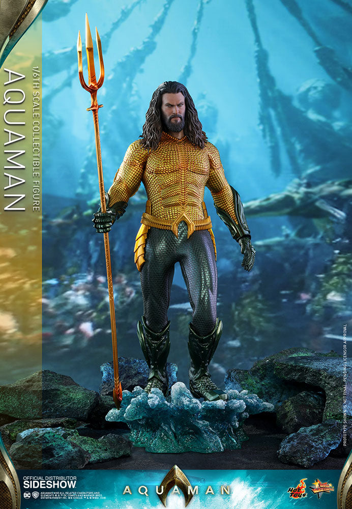 Aquaman DC Comics Movie Masterpiece Series Sixth Scale Figure - Collectors Row Inc.