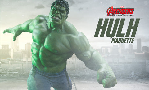 Hulk Avengers: Age of Ultron - Maquette by Sideshow Collectibles - Collectors Row Inc.