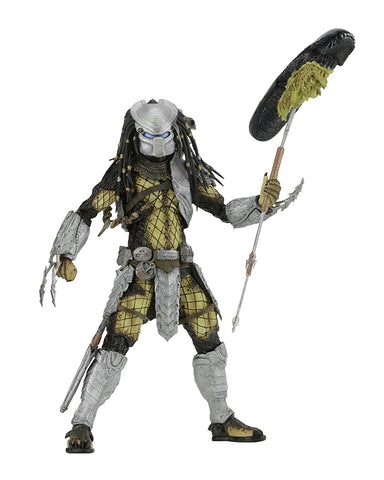 "NECA Predator - 7"" Scale Action Figure - Series 17 AvP Youngblood Action Figure - Collectors Row Inc."