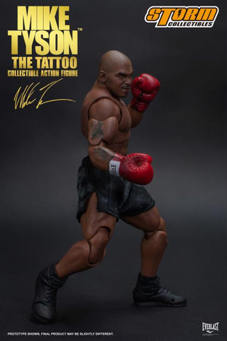"Mike Tyson ""The Tattoo"" 1/12 Scale Collectible Action Figure by Storm Collectibles - Collectors Row Inc."