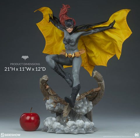 Batgirl DC Batman Barbara Gordon Premium Format Figure Statue by Sideshow Collectibles - Collectors Row Inc.