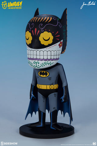 Batman DC Comics Calavera Designer Toy by Unruly Industries and Sideshow Collectibles - Collectors Row Inc.