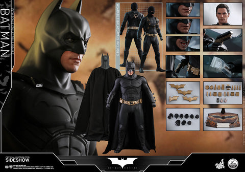 Hot Toys Batman- Batman Begins - Quarter Scale Series - Quarter Scale Figure - Collectors Row Inc.
