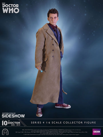 DOCTOR WHO: 10th Doctor Sixth Scale Figure by Big Chief Studios - Collectors Row Inc.