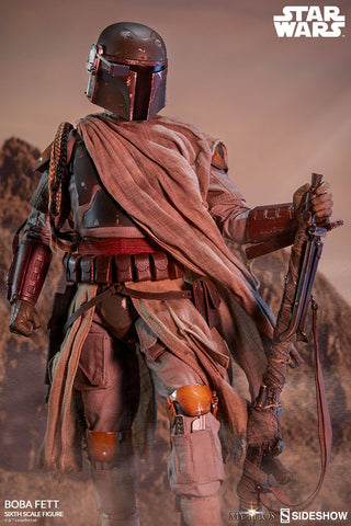 "Boba Fett Star Wars Mythos Collection 1/6 Scale 12"" Action Figure  by Sideshow Collectibles - Collectors Row Inc."