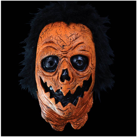 Candy Corn Julien Halloween Pumpkin Mask Officially Licensed by Trick or Treat Studios - Collectors Row Inc.