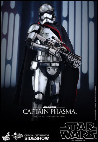 Captain Phasma Sixth Scale Figure by Hot Toys - Collectors Row Inc.