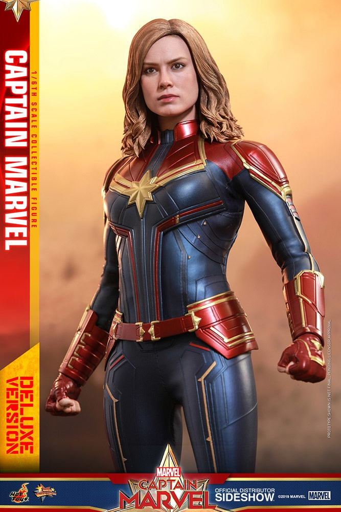 Captain Marvel Regular Version Sixth Scale Figure - Collectors Row Inc.