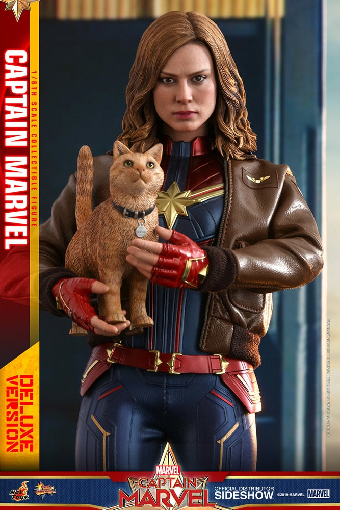 Hot Toys Captain Marvel Deluxe Version Sixth Scale Figure - Collectors Row Inc.