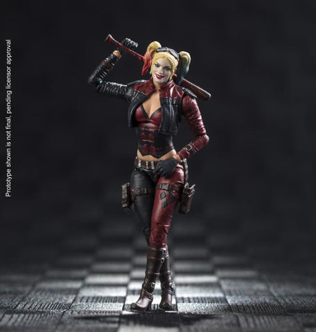 Hiya Toys Injustice 2: Harley Quinn 1:18 Scale 4 Inch Acton Figure - Collectors Row Inc.