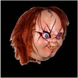 Bride of Chucky Version 2 Deluxe Mask Officially licensed by Trick or Treat Studios - Collectors Row Inc.