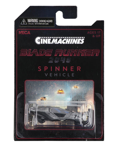 NECA Cinemachines Collectible Die-Cast Collectible from Blade Runner 2049 - Collectors Row Inc.