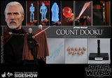 Hot Toys Count Dooku Star Wars Episode II Attack of the Clones Sixth Scale Figure - Collectors Row Inc.