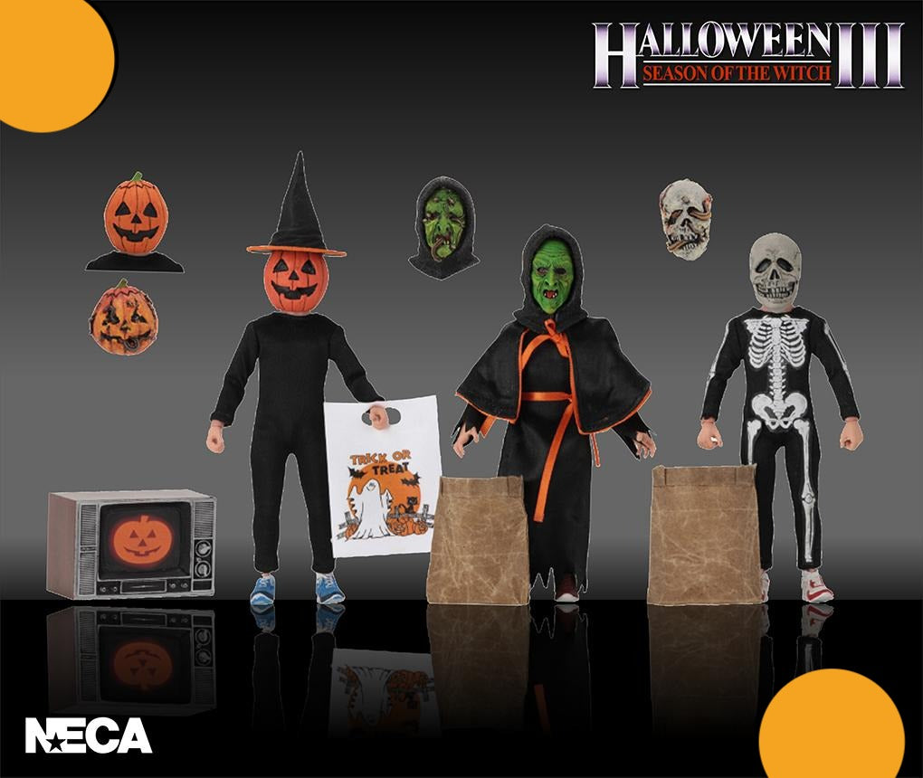 "Halloween 3 - 8"" Scale Clothed Figure- Season of the Witch - 3 Pack - Collectors Row Inc."
