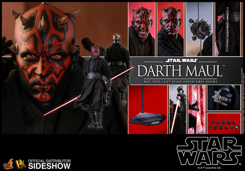 Hot Toys Darth Maul Star Wars Phantom Menace 1/6 Scale Figure - Collectors Row Inc.