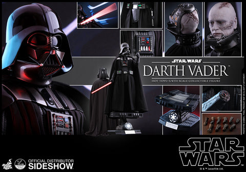 Hot Toys Darth Vader 1/4 Star Wars VI Return Of The Jedi Action Figure - Collectors Row Inc.