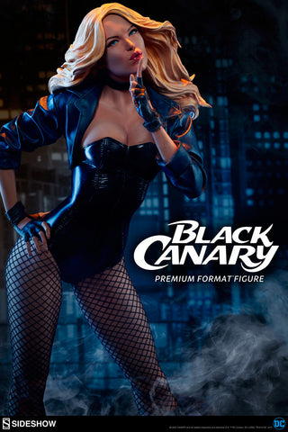 Black Canary Premium Format(TM) Figure by Sideshow Collectibles - Collectors Row Inc.